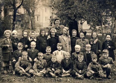 Blommensbergsskolan 1946 1 klass
