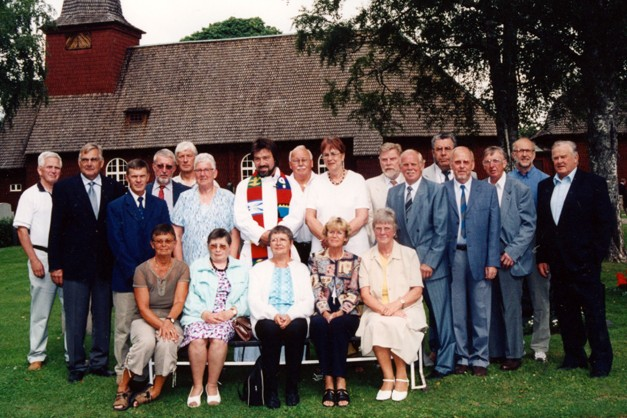 Konfirmationsjubileum 20 juli 2003