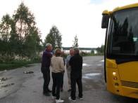 Fikapaus Austmarka - Per-Axel pekar finger åt Alf ;-)