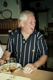 2006 Idre golf, här middag - det ska vara jag ...