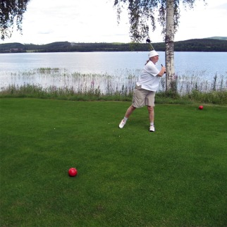 2013-06 Uddeholms GK - vy (min sambos) utslag hål 4