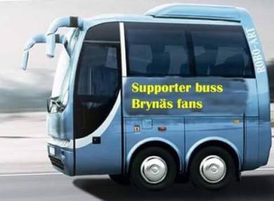 Brynäs Fans Buss fr Jenny Pettersson foto