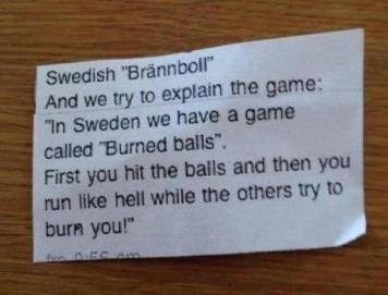 Burned Balls