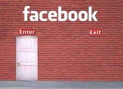 Facebook Enter Exit