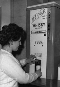 Ice cooled whisky