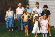 Eivor , Evert, Lasse, Hans, Janeth,Johan, Caroline och Maria