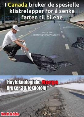 Norge sänker farten med 3D teknik