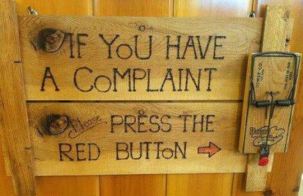 Om du har klagomål