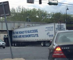 On the road to success