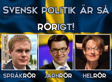 Rorig svensk bredbandspolitik