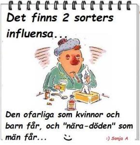 Två olika influensor