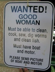 Wanted good woman