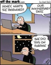 What our password
