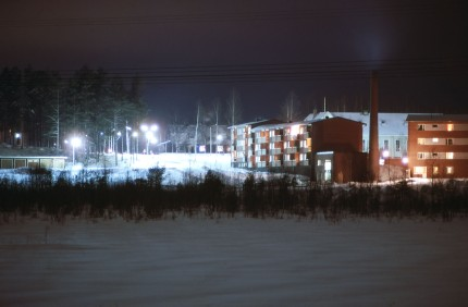 Hagfors kv Skogvaktaren mot Parkvägen