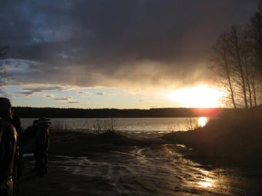 Valborg 2013 Dags för solnedgång
