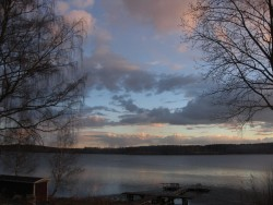 Valborg 2013 Skymningen faller