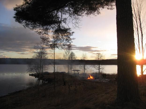 Valborg 2013 Solnedgång 2