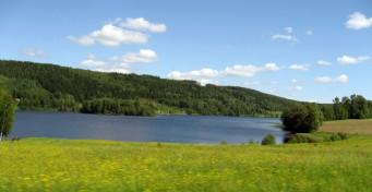 2011-06 Sunnemo Lidsjön från Lid 12 juni 2011