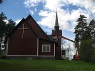 2014 Kyrkan snyggas upp
