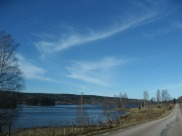 Lidsjön norrut från östsidan