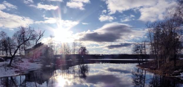 Rådasjön fr gamla bron