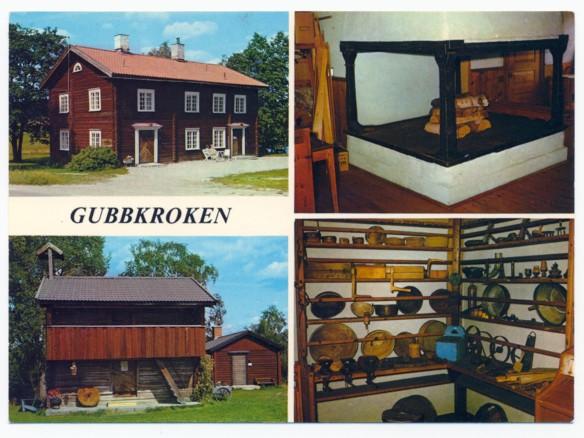 Gubbkroken vykort av Uno Hartling