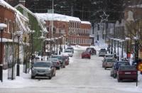 2014-02 Hagfors Kyrkogatan med stadshuset