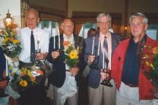 Bild frän avtackningsfesten vid pensionering