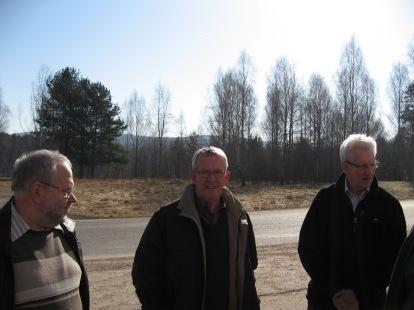 Lars-Gunnar Hedlund, Bosse Gustavsson o Hugo Broms