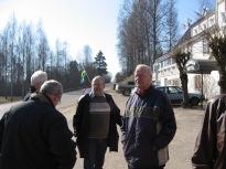 """Bosse Gustavsson, Hugo Broms, Lars-Gunnar Hedlund och Ivar """"På Lakhea"""" Eriksson"""