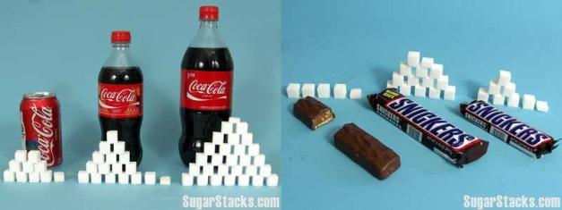 Coca snickers socker