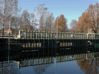 Gångbron med stämborden