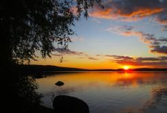 Solnedgång över Gröcken 20 juli 2017 2