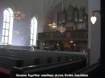 Sunne kyrka interiörbild