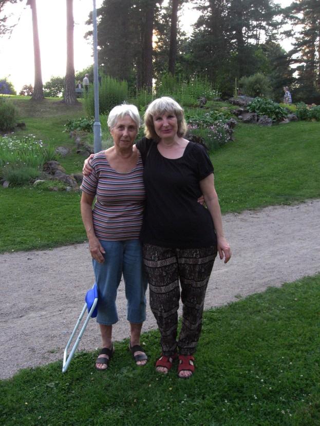 och sist, men inte minst, Birgitta Larsson och Natalia