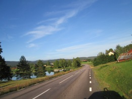 Östmark - mot Torsby