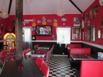 Café Memphis interiörbild