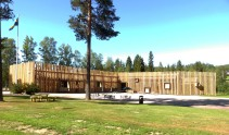Nyinvigda Finnskogscentrum i Lekvattnet