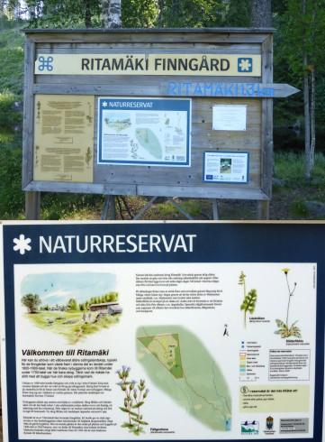2014-07 Ritamäki 1,3 km gångväg upp ...