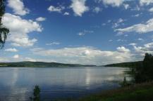 Rådarasta Rådasjön mot söder