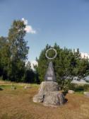 201407- Rådarasta - monumentet för 60:e breddegraden