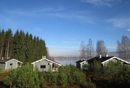 Vy från Björnbyn mot Uddeholm 1 nov 2014