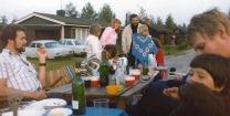 Ulf (?) Jarlemark, Birgitta, Arne Olsson, Sam Verneus