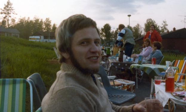 Till slut jag själv, Stig (Petsa) Pettersson - med skepparkrans. :-( Den var inte kvar värst länge till ...