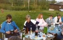 Clarence Stenström Jan Asker, Birgitta Olsson(?), Margot Carlsson o Göran Mårtensson,