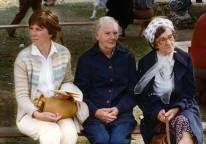 Ingrid, min mor och Gurly i Ransäter