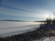 Rådasjön söderut från Rådarasta