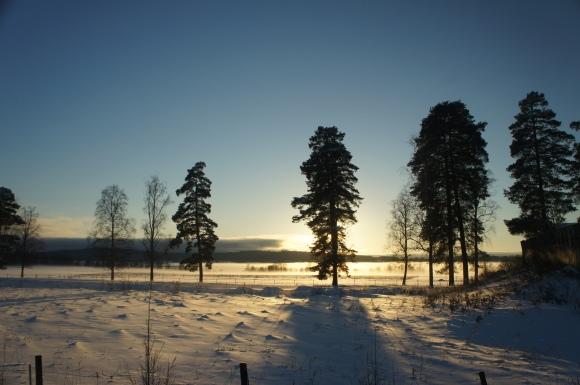 Åter Uddeholm, invid Uddeholmsladan, och sol igen ;-)