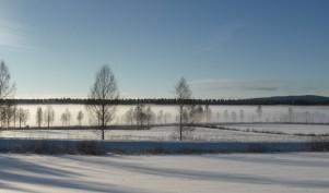 ... och här en vintrig Rådasjön