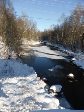 2015-02 Uvån nedan bron i Stjärnsfors